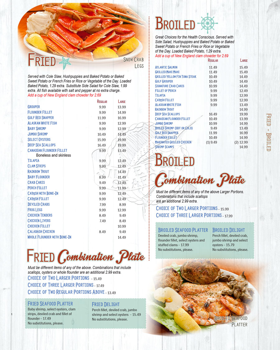 Clinton Seafood Restaurants